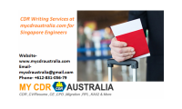 CDR Writing Services at mycdraustralia.com for Singapore Engineers