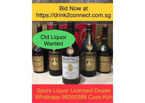 98350388 - OLD liquor Wanted by Licensed Liquor Dealer(Drink2Connect)