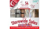 National Day Store wide Special (Door + Gate + Digital Lock) Bundle Promotion Sale 2019 Singapore