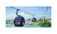 Cable Car cheap ticket discount promotion 2 ways and Sentosa line luge and skyride Madame Tussauds