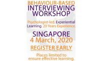 Behavior-Based Interviewing  Course  -  Singapore