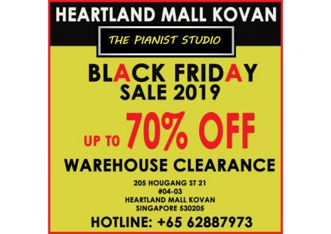 The Pianist Studio Black Friday Sale 2019 - Heartland Mall Kovan