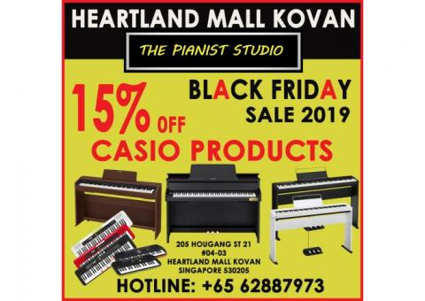 Casio Piano Black Friday Sale 2019 - Heartland Mall Kovan Singapore