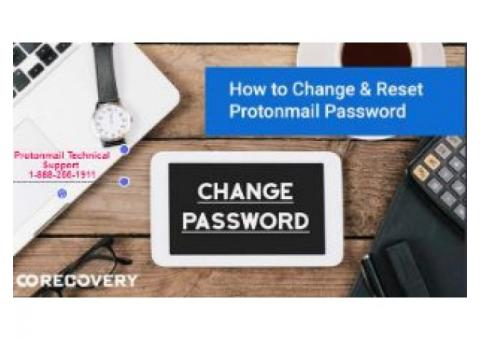 How to Change & Reset Protonmail Password 1-888-256-1911