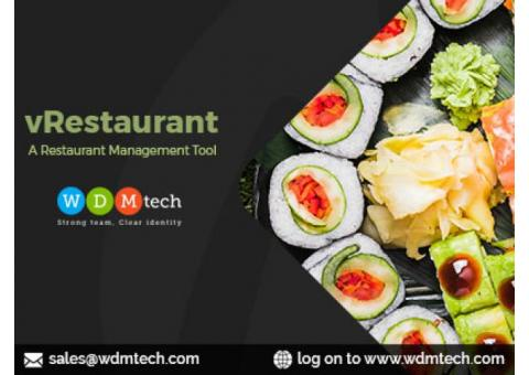 Offering Best Deal With Restaurant Management Tool by WDMtech