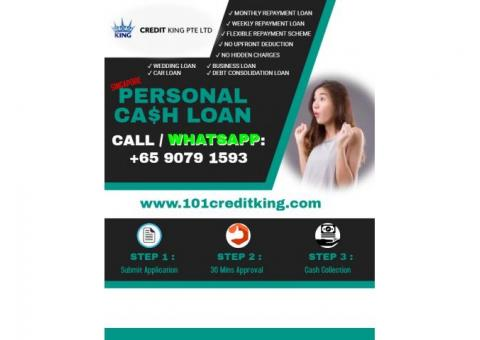 Personal Cash Loan Singapore - Get Cash Instantly