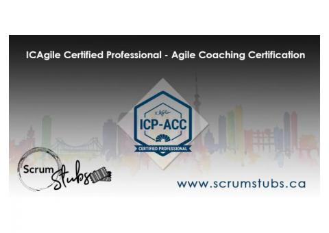 ICAgile Certified Professional - Agile Coaching Certification | ICP - ACC | ICAgile