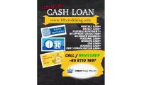 Singapore Personal Cash Loan | Cash when you need it