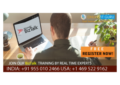 Get A Free Demo On Biztalk Online Training By Real-time Experts