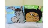 Very Rare yr2004 Shrek 2 full collection pillow from B.K not Mac
