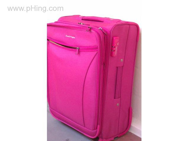 Hush Puppies Pink Trolley Bag Luggage Travel