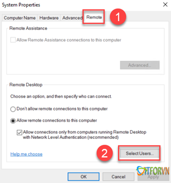 ARROWTRAN.COM 112020_0831_Hngdncuh6 Cấu hình cho phép nhiều User cùng Remote Desktop vào Windows Sever 2016 Allow Multiple Remote Desktop
