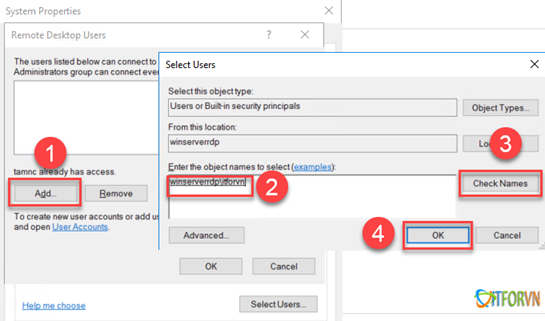 ARROWTRAN.COM112020_0831_Hngdncuh7 Cấu hình cho phép nhiều User cùng Remote Desktop vào Windows Sever 2016 Allow Multiple Remote Desktop