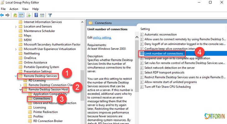 ARROWTRAN.COM 112020_0831_Hngdncuh12 Cấu hình cho phép nhiều User cùng Remote Desktop vào Windows Sever 2016 Allow Multiple Remote Desktop