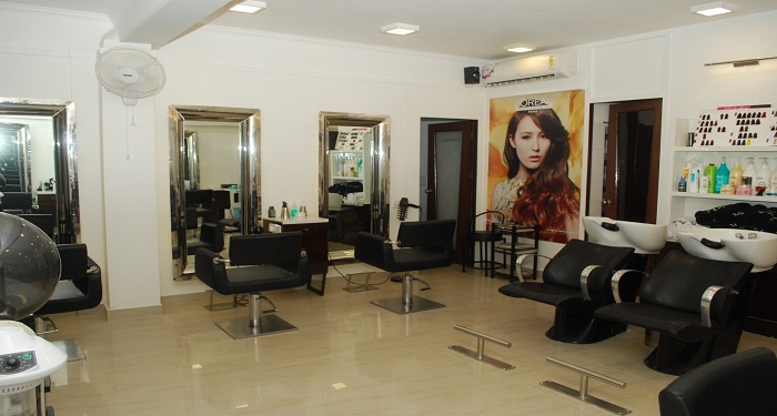 Deals discounts on hair spa styling care at unisex for Adamo salon malviya nagar