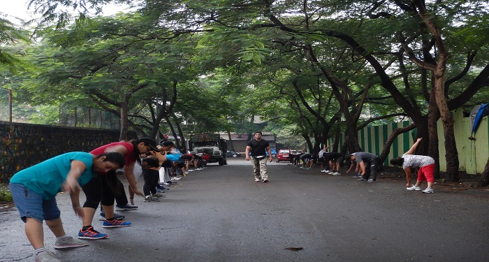 Fartlek Workout in Kandivali East, Mumbai