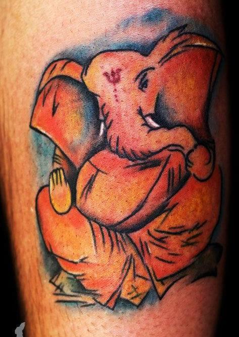 Religious Tattoo Design in Defense Colony, Delhi
