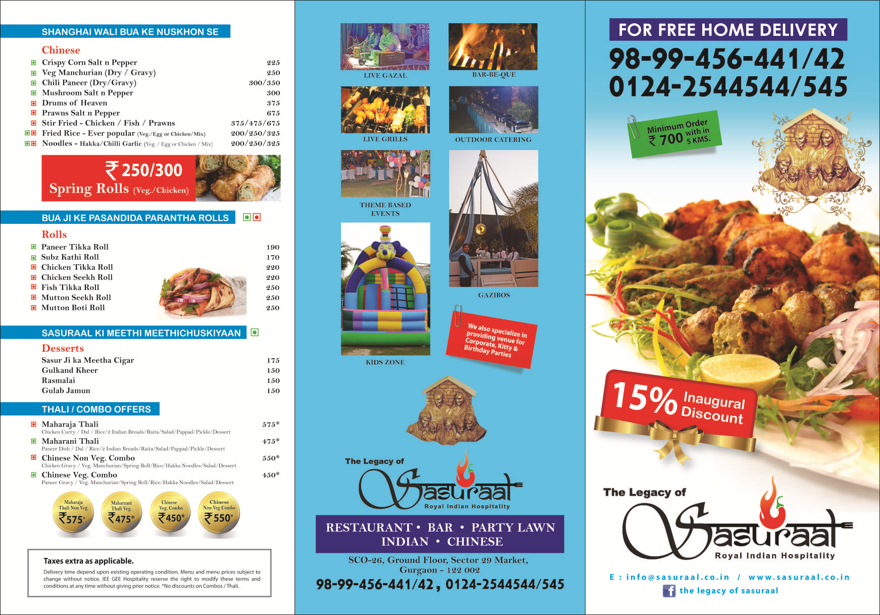 Chinese Food Gurgaon Home Delivery Yo China Restaurant Sector 29 ...