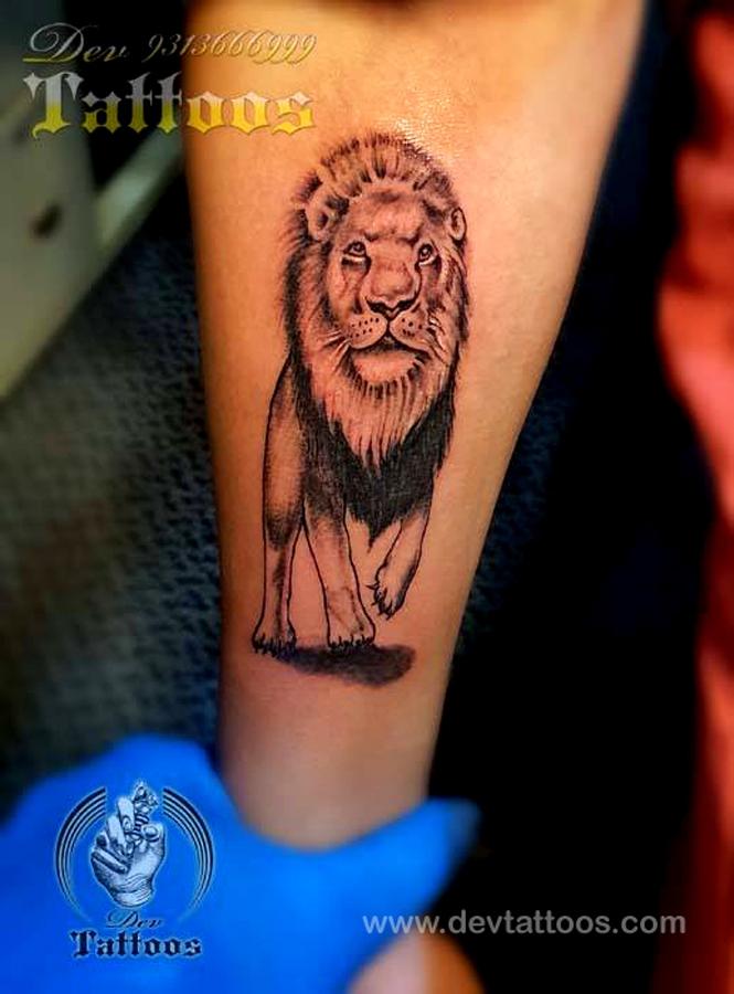 LION TATTOO 3D