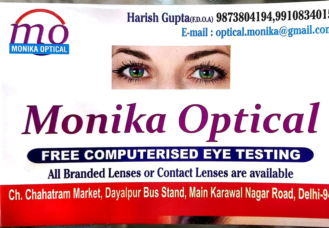 MONIKA OPTICALS
