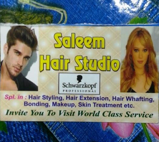 Saleem Hair Studio- By Schwarzkopf