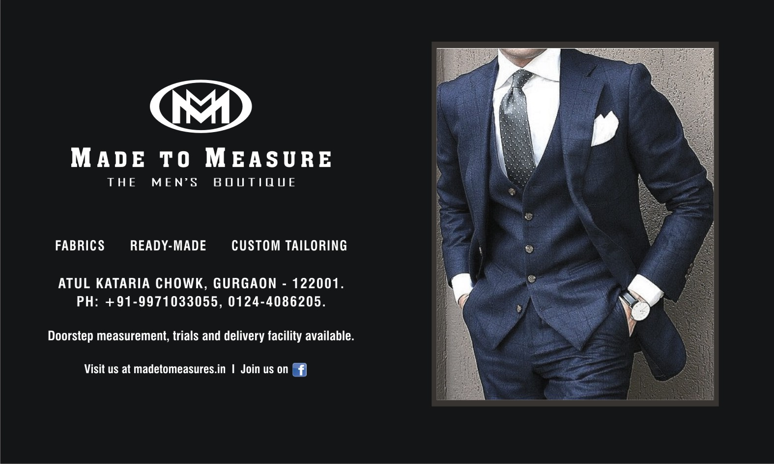 Made To Measure The Men's Boutique