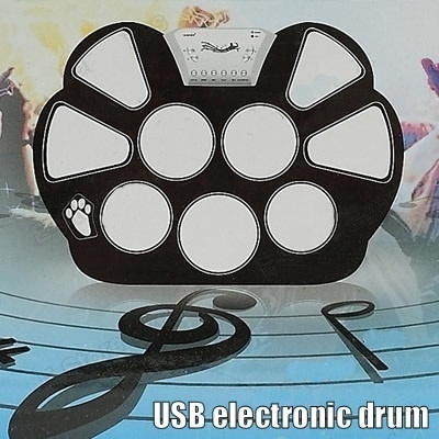 USB electronic roll up drum