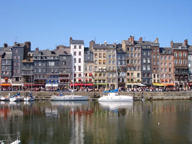 France Calvados Honfleur port