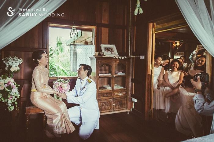บ่าวสาว,ชุดหมั้น,ดอกไม้เจ้าสาว,งานหมั้น,เพื่อนเจ้าสาว,สถานที่แต่งงาน,สถานที่จัดงานแต่งงาน รีวิวงานแต่ง สองธีมจัดไป แต่งแบบไทยและปาร์ตี้ Bistro @The Okura Prestige