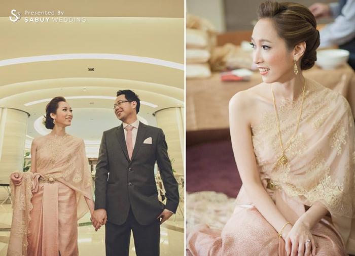 เจ้าบ่าว,เจ้าสาว,ชุดหมั้น,ชุดไทย Saree ผู้นำเทรนด์ชุดเจ้าสาวเรียบโก้