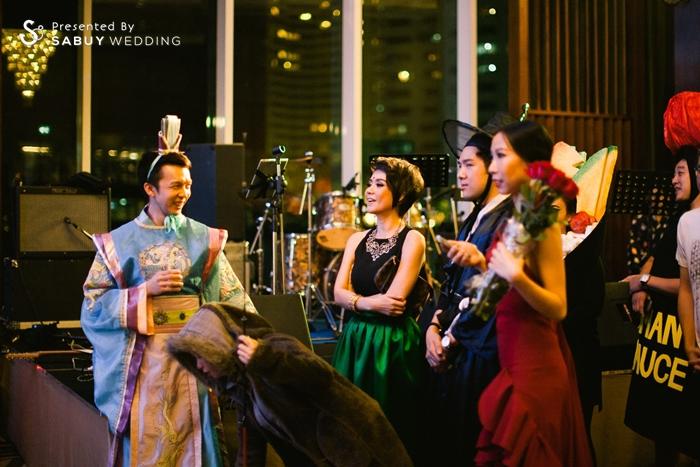 พิธีกรงานแต่ง,ธีมงานแต่ง รีวิวงานแต่ง ธีมนานาชาติสุดหรรษา รับประกันความมันส์สุดเหวี่ยง @S31 Sukhumvit Hotel