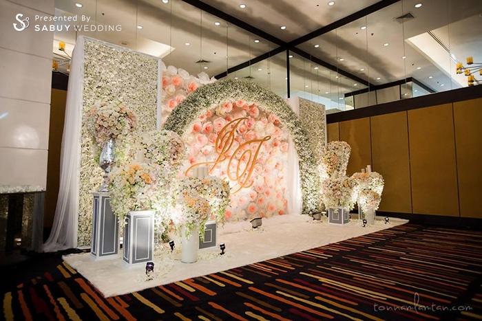 งานแต่งงาน,ตกแต่งงานแต่ง,จัดดอกไม้งานแต่ง,backdrop งานแต่ง,แบคดรอป งานแต่งงานหลากสไตล์ ด้วยดอกไม้สีขาว