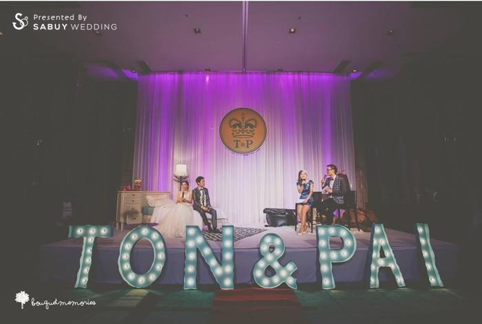 บ่าวสาว,ชุดบ่าวสาว,เวทีงานแต่ง,พิธีกรงานแต่ง,backdrop งานแต่ง,ตกแต่งงานแต่ง,พิธีแต่งงาน รีวิวงานแต่ง House Party สไตล์อังกฤษ @Renaissance Bangkok Ratchaprasong