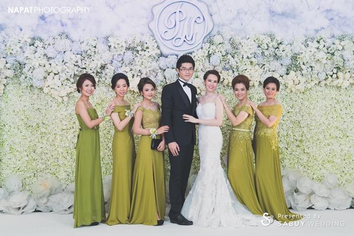งานแต่งงาน,เจ้าบ่าว,เจ้าสาว,เพื่อนเจ้าสาว,ตกแต่งงานแต่ง,จัดดอกไม้งานแต่ง,backdrop งานแต่ง,แบคดรอป งานแต่งงานหลากสไตล์ ด้วยดอกไม้สีขาว