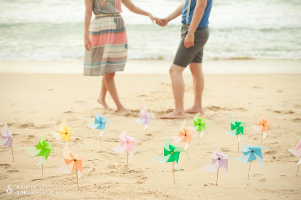 """คู่รัก,พร๊อพ,ริมทะเล ทำมือ สื่อใจ Homemade Wedding  สไตล์ """"Jeedjididid"""""""