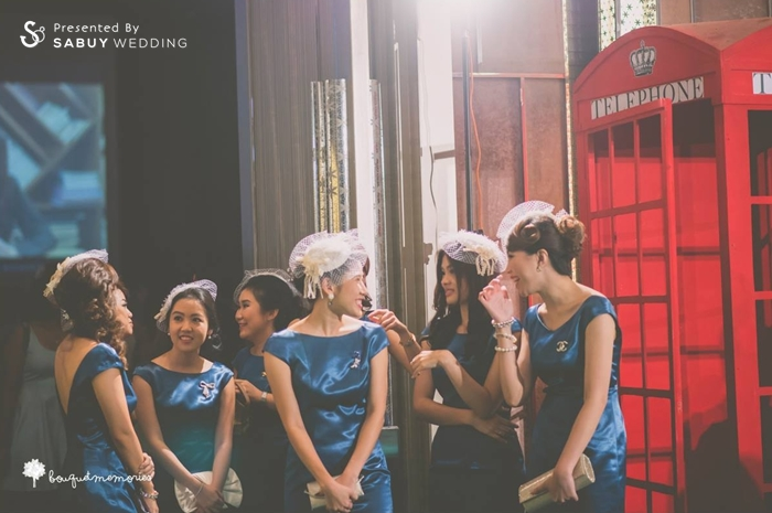 เพื่อนเจ้าสาว,ชุดเพื่อนเจ้าสาว,ธีมงานแต่ง รีวิวงานแต่ง House Party สไตล์อังกฤษ @Renaissance Bangkok Ratchaprasong