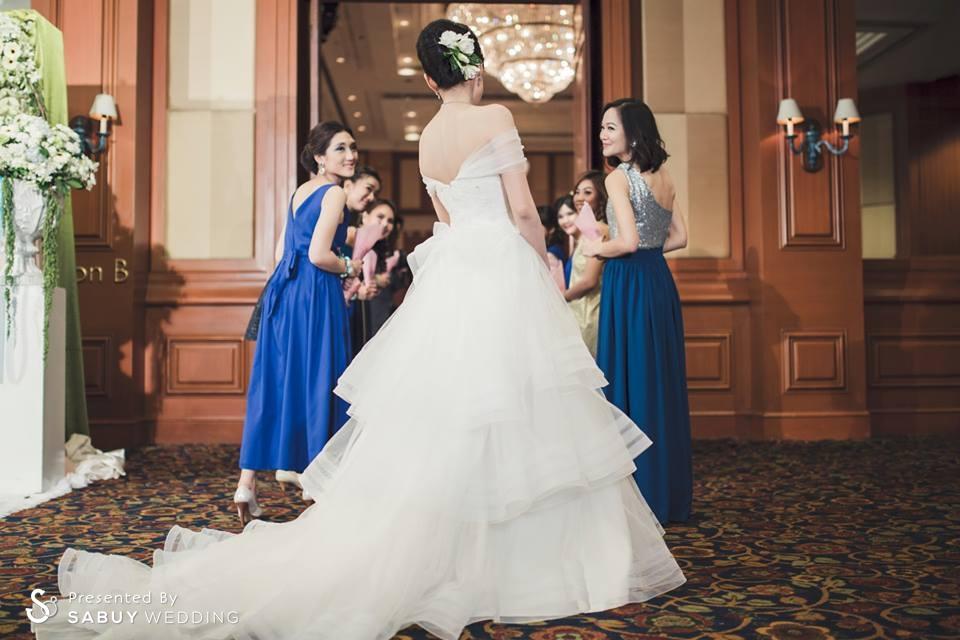 งานแต่งงาน,เจ้าสาว,เพื่อนเจ้าสาว ชุดเจ้าสาวอวดไหล่สวย