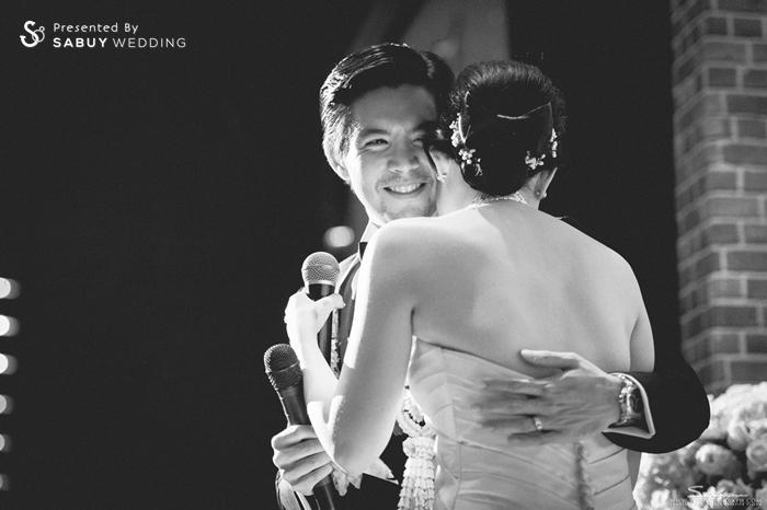 บ่าวสาว,งานแต่งงาน รีวิวงานแต่ง สองธีมจัดไป แต่งแบบไทยและปาร์ตี้ Bistro @The Okura Prestige