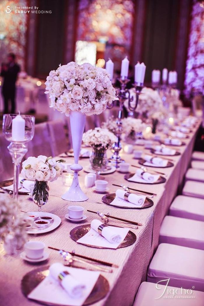 งานแต่งงาน,ตกแต่งงานแต่ง,งานเลี้ยง,พร๊อพ งานแต่งงานหลากสไตล์ ด้วยดอกไม้สีขาว