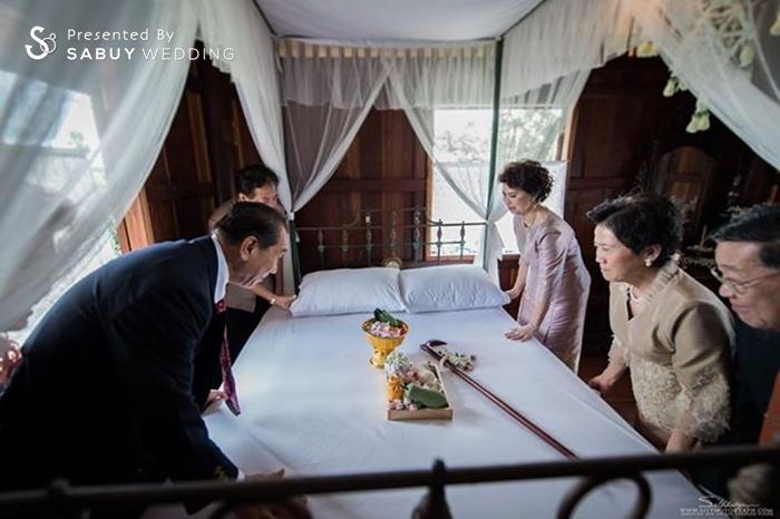 พิธีหมั้น,งานหมั้น,ห้องส่งตัวบ่าวสาว รีวิวงานแต่ง สองธีมจัดไป แต่งแบบไทยและปาร์ตี้ Bistro @The Okura Prestige