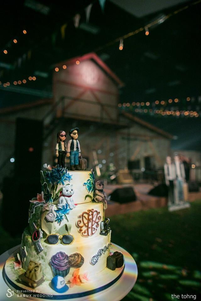 เค้กงานแต่ง รีวิวงานแต่ง Outdoor งานนี้การันตีความสนุก @Moonstar Studio