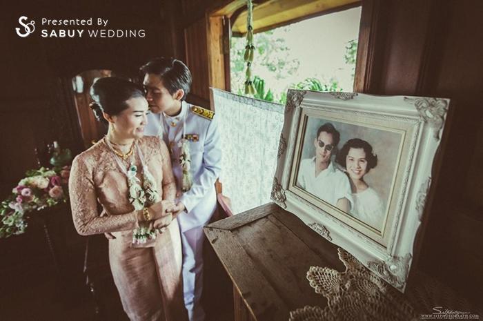 ชุดหมั้น,งานหมั้น,รูปงานหมั้น,สถานที่แต่งงาน,สถานที่จัดงานแต่งงาน รีวิวงานแต่ง สองธีมจัดไป แต่งแบบไทยและปาร์ตี้ Bistro @The Okura Prestige