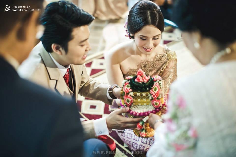 งานหมั้น,พิธีหมั้น,งานแต่งตอนเช้า,พิธีแต่งงาน,พิธีแต่งงานแบบไทย,พิธีไหว้ผู้ใหญ่ ครบถ้วนพิธีแต่งงานแบบไทย
