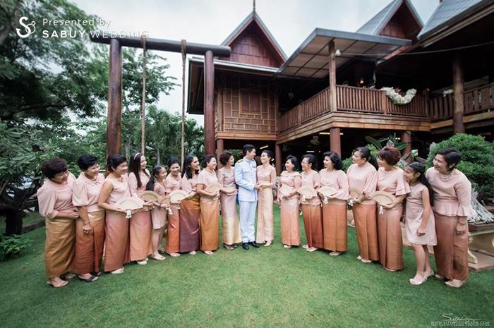 บ่าวสาว,ชุดหมั้น,งานหมั้น,สถานที่แต่งงาน,สถานที่จัดงานแต่งงาน,ครอบครัวบ่าวสาว รีวิวงานแต่ง สองธีมจัดไป แต่งแบบไทยและปาร์ตี้ Bistro @The Okura Prestige