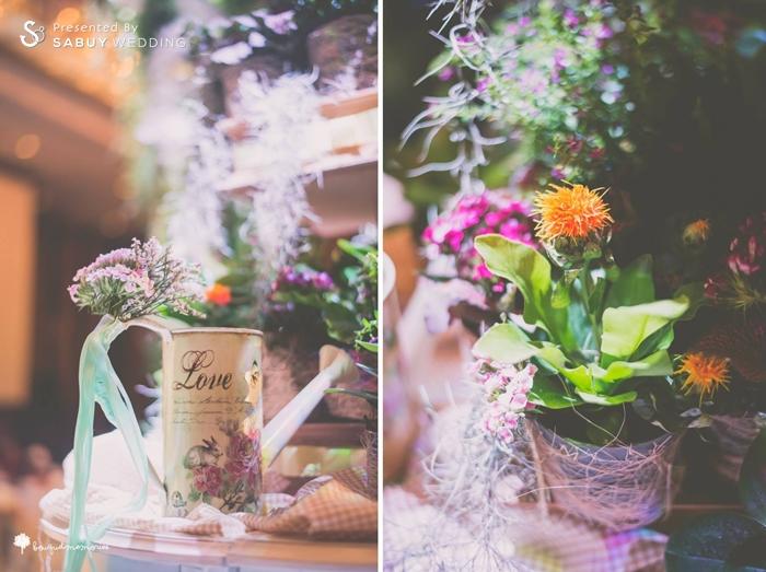 ตกแต่งงานแต่ง,จัดดอกไม้งานแต่ง รีวิวงานแต่ง House Party สไตล์อังกฤษ @Renaissance Bangkok Ratchaprasong