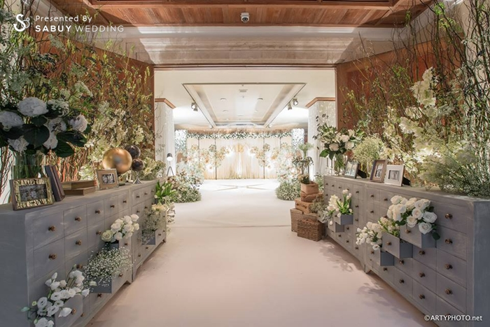 งานแต่งงาน,ตกแต่งงานแต่ง,จัดดอกไม้งานแต่ง,ซุ้มแต่งงาน,backdrop งานแต่ง,แบคดรอป,พร๊อพ,แกลเลอรี่ งานแต่งงานหลากสไตล์ ด้วยดอกไม้สีขาว
