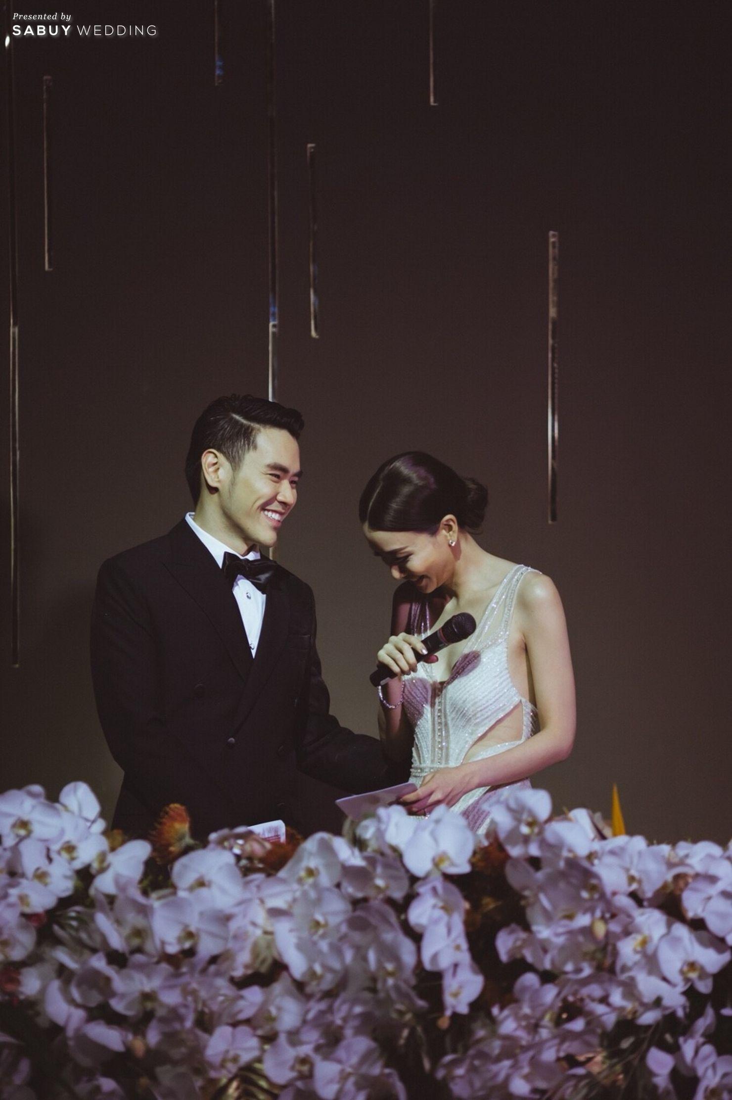 บ่าวสาว,ชุดเจ้าสาว,ชุดเจ้าบ่าว,จัดดอกไม้งานแต่ง,ตกแต่งงานแต่ง รีวิวงานแต่ง Sit-down Lunch และ Dinner เฉียบเรียบโก้ โมเดิร์นมาก @SO Sofitel Bangkok