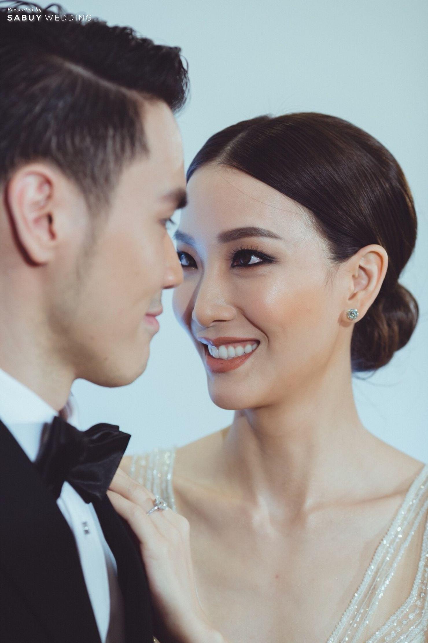 แต่งหน้าเจ้าสาว,บ่าวสาว,ชุดเจ้าสาว,งานแต่งงาน รีวิวงานแต่ง Sit-down Lunch และ Dinner เฉียบเรียบโก้ โมเดิร์นมาก @SO Sofitel Bangkok