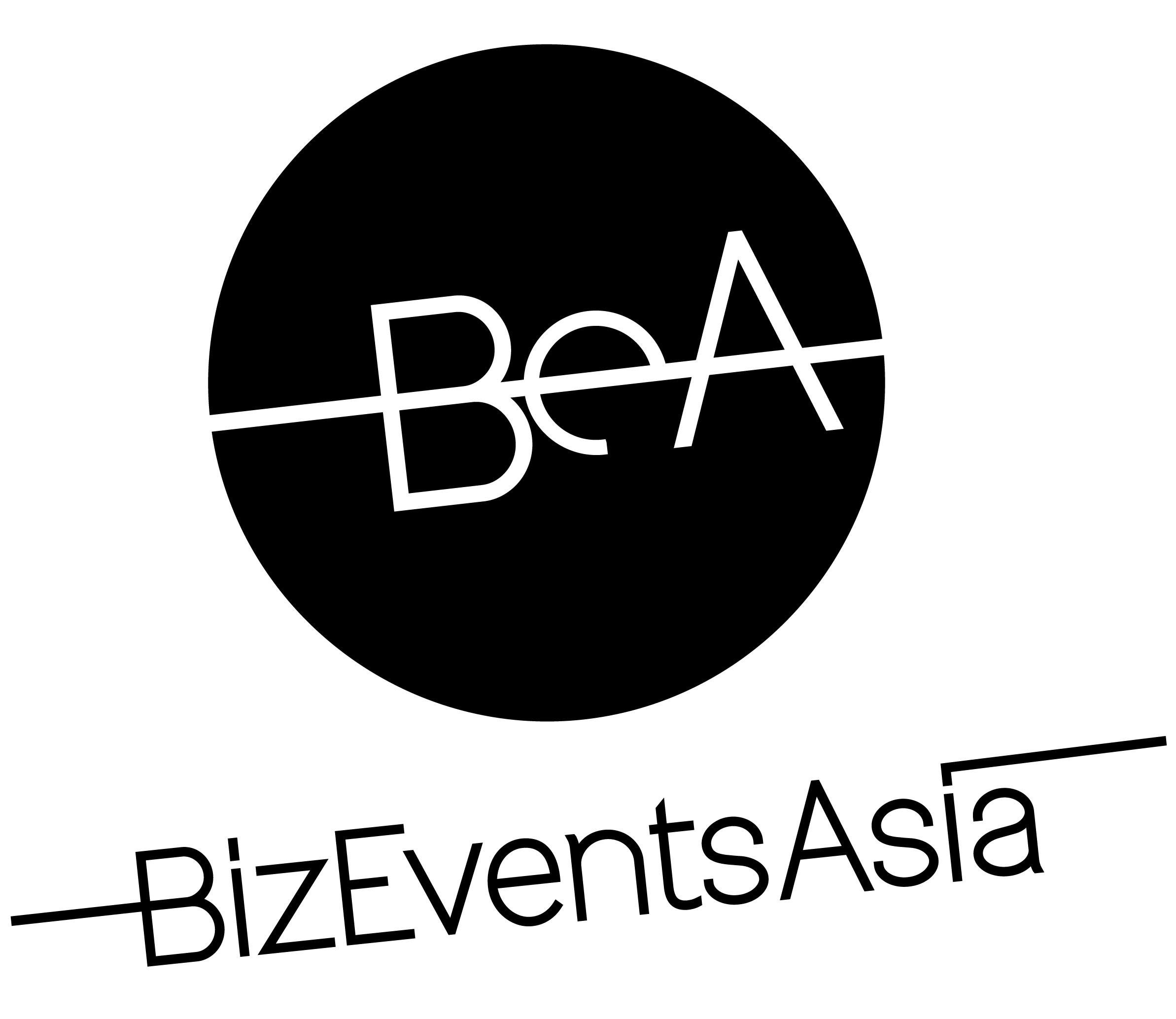 Biz Events Asia - Logo Black