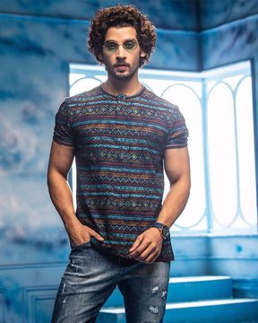Picture of Mens Henley Shirt